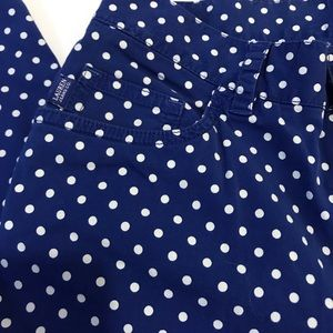 Blue and white polkadot   Capris by Ralph Lauren